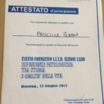 Evento Formativo SITD Sezione Lazio 2013
